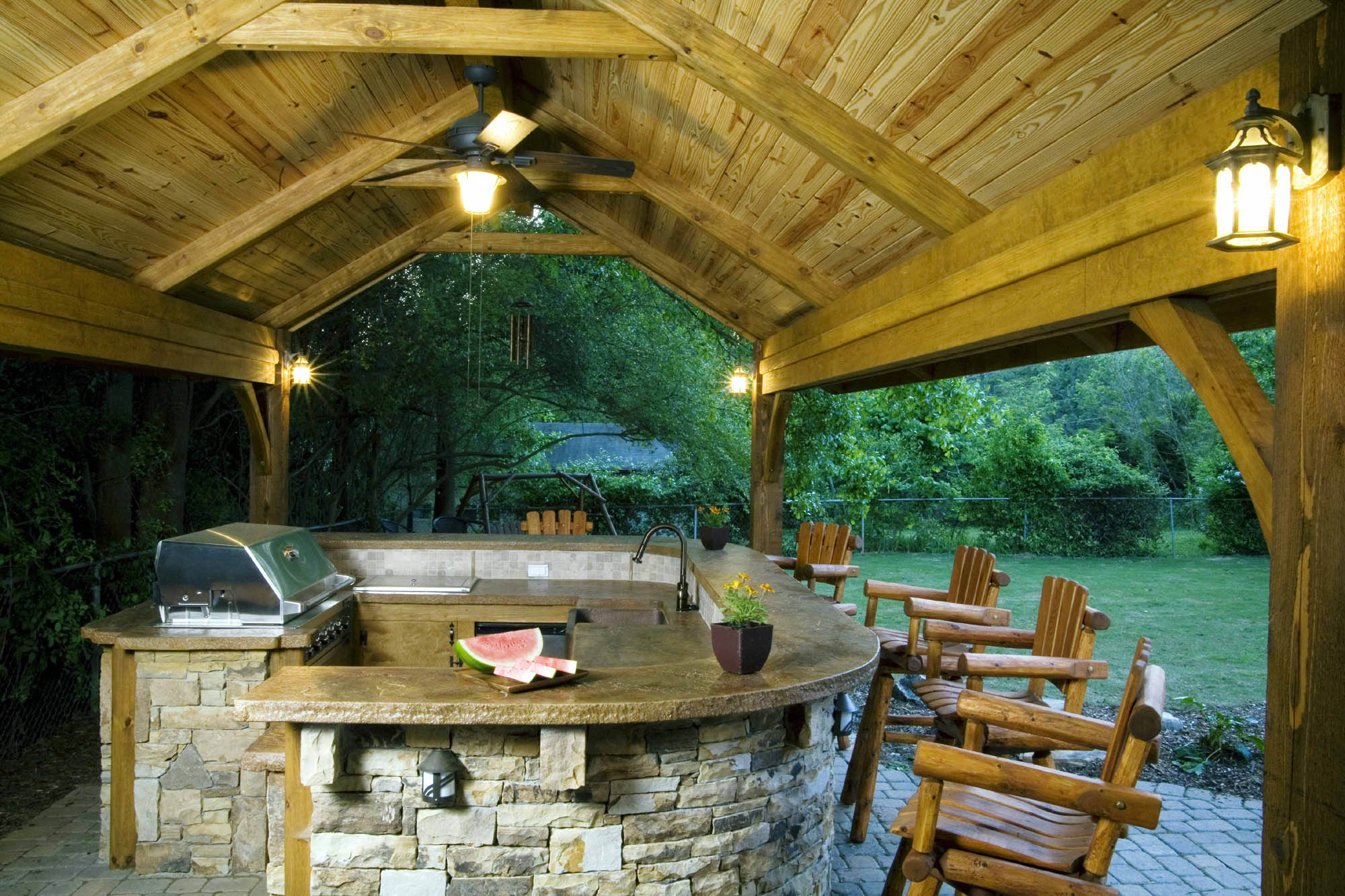 Rustic-Outdoor-Kitchen-with-tongue-_-groove-1